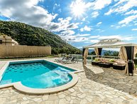 Stone villa with private pool in Konavle region