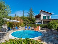 Villa with pool for rent Dubrava Sibenik