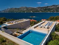 Luxury sea view villa for rent Korcula