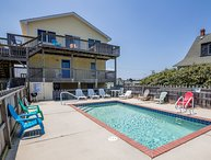 Huron Haven | Oceanfront | Private Pool, Hot Tub, Dog Friendly | Nags Head