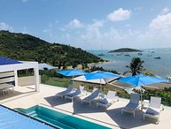 AZUR...4BR located in the French Cul de Sac, facing Pinel Island, St Martin