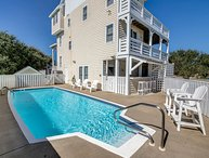 Slate's Beach House | 1060 ft from the beach | Dog Friendly, Private Pool, Hot T