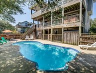 Wine Down | 1830 ft from the Beach | Private Pool, Hot Tub, Dog Friendly | Corol