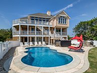 Sea Spot | 625 ft from the beach | Private Pool, Hot Tub | Corolla
