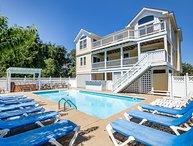 Fowl Play | 1580 ft from the beach | Private Pool, Hot Tub, Dog Friendly | Duck