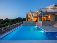 Croatia Pag island Modern sea view villa for rent