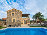 Croatia Krk island Rustic modern villa for rent