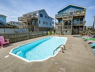 Keg's | Oceanfront | Private Pool, Hot Tub | Nags Head