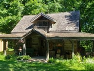 Circa 1850 Settlers Cabin - Located in Tropical Ontario with Private Chef Servi