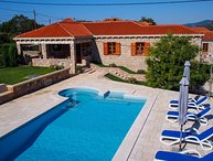 Croatia Dubrovnik area Rustic stone villa for rent