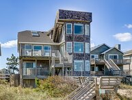 Pier House | Oceanfront | Private Pool, Hot Tub, Dog Friendly | Nags Head