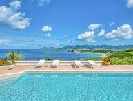 Villa Beaulieu | Ocean View - Located in Fabulous Terres Basses with Private Po